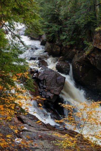 Auger Falls in Hamilton County, NY