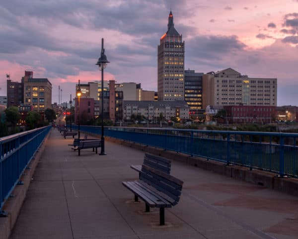 Puzzle of Downtown Rochester New York