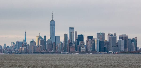 New York City Skyline from Staten Island New York