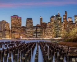 Old Pier 1 in Brooklyn Bridge Park: The Perfect Spot for Skyline Photos of New York City