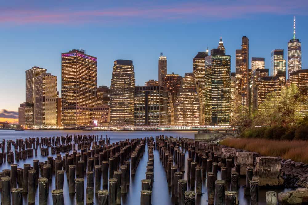 New York City Skyline from Brooklyn Bridge Park