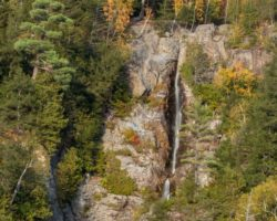 How to Get to Roaring Brook Falls in the Adirondacks