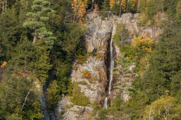 Roaring Brook Falls in the Adirondacks of New York