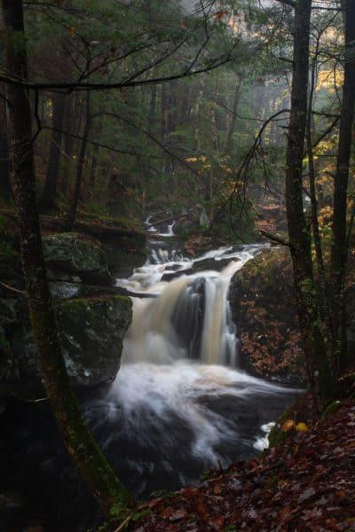 East Jimmy Creek Falls near Wells New York