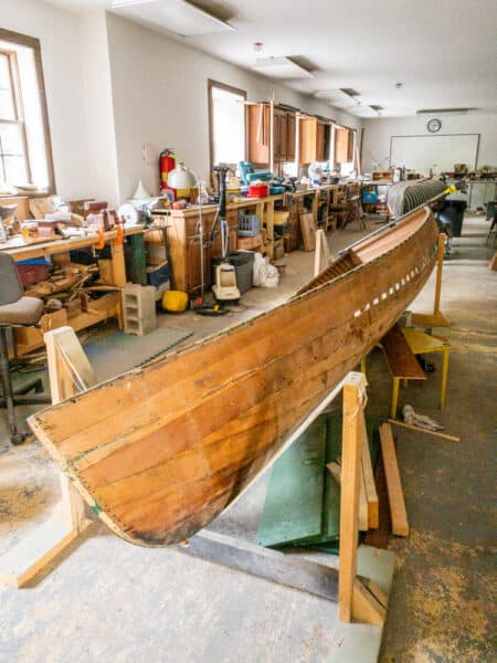 Workshop at the Finger Lakes Boating Museum in Upstate NY