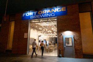 Sampling the Tasty Beers at Fort Orange Brewing in Albany