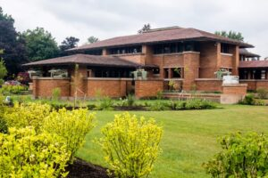 Touring Frank Lloyd Wright's Martin House in Buffalo