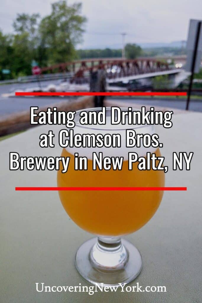 Clemson Bros. Brewery at the Gilded Otter in New Paltz, NY