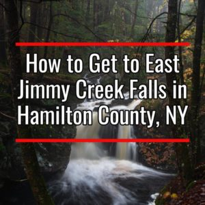 East Jimmy Creek Falls in Hamilton County New York