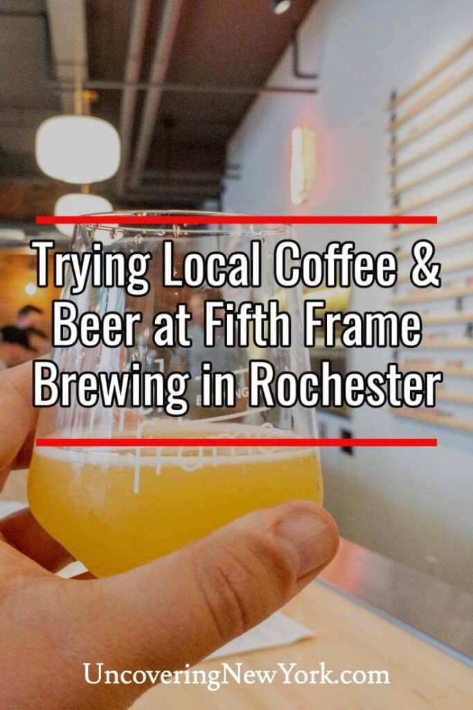 Fifth Frame Brewing Company in Rochester New York