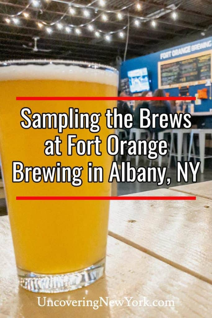 Fort Orange Brewing in Albany, New York