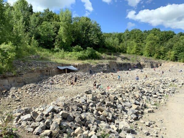 The Herkimer Diamond Mine in Upstate New York