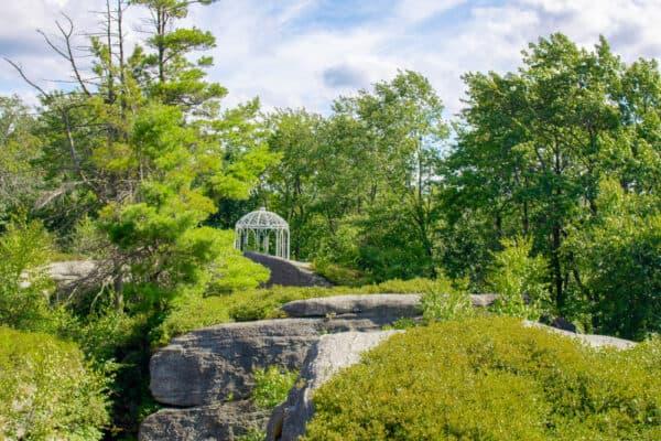 Top of Rock City Park in Olean, New York