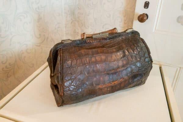 Susan B Anthony's Alligator purse