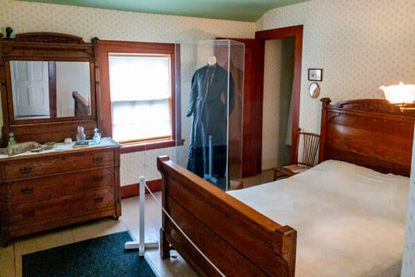 Susan B Anthony's bedroom in Rochester NY
