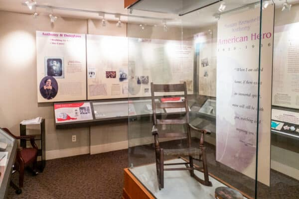 Museum at the Susan B Anthony House in Rochester New York