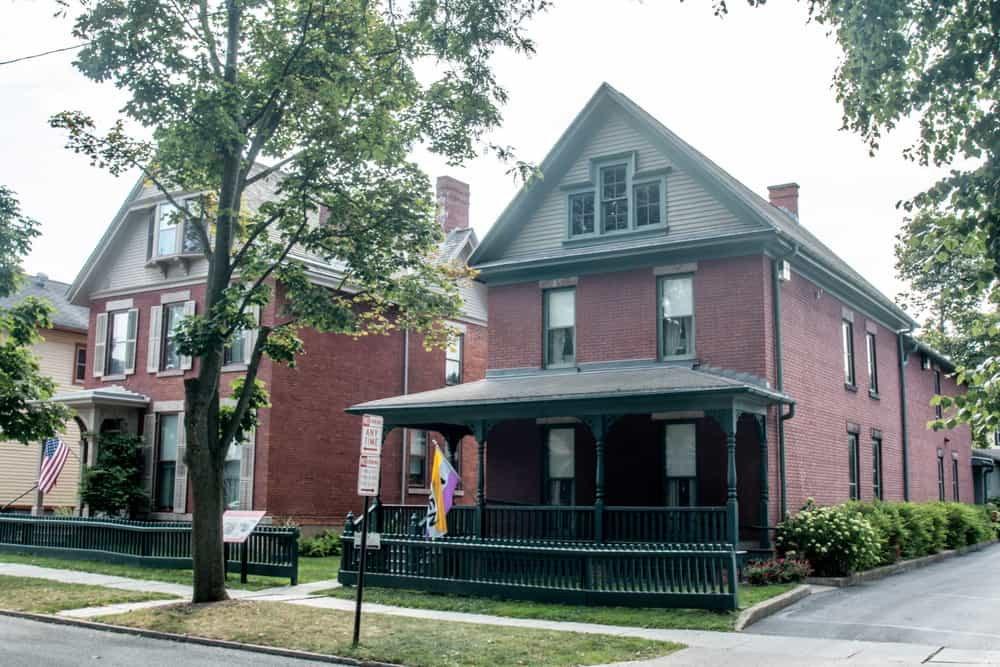 The Susan B Anthony House in Rochester New York