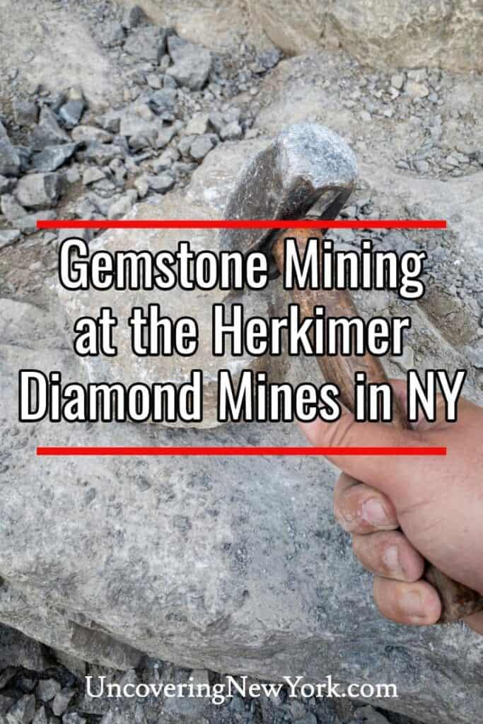 Herkimer Diamond Mine in New York
