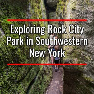 Rock City Park in Southwestern New York