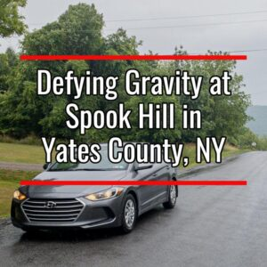 Spook Hill in Middlesex New York
