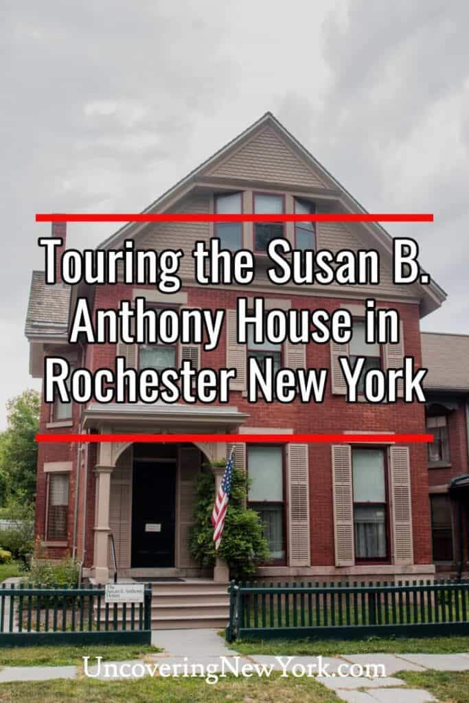 Susan B Anthony Museum and House in Rochester New York