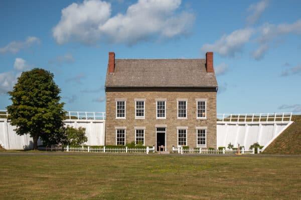 Fort Ontario in Oswego, New York