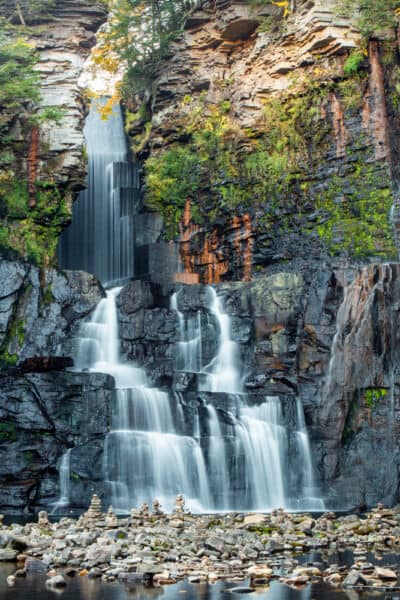 High Falls near Chateaugay New York