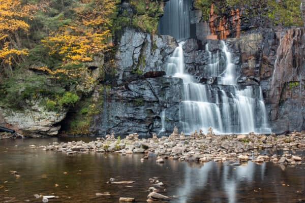 High Falls in Chateaugay New York