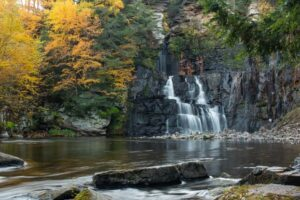 How to Get to High Falls in Franklin County, New York