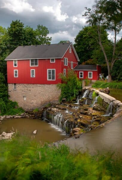 Honeoye Falls in New York