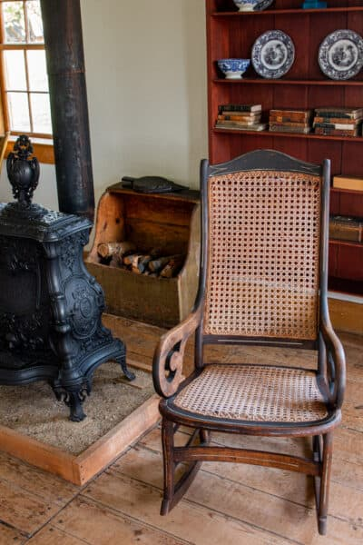 Rocking chair owned by John Brown