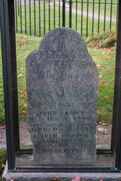 Grave of John Brown in North Elba New York