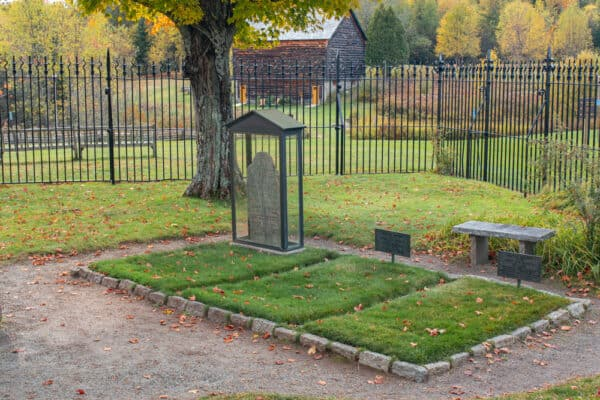 John Brown's grave in Lake Placid New York