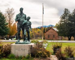 Visiting the John Brown Farm State Historic Site in Lake Placid