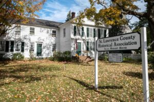 Touring the Silas Wright House in Canton, New York