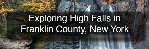High Falls in Franklin County NY