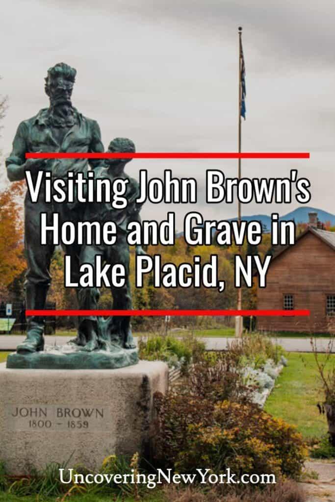 John Brown Farm State Historic Site in Lake Placid New York