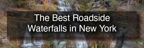 The best roadside waterfalls in New York