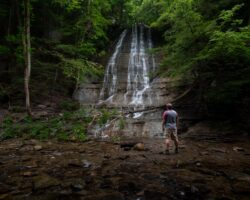 How to Get to the Waterfalls in Grimes Glen in Naples, New York