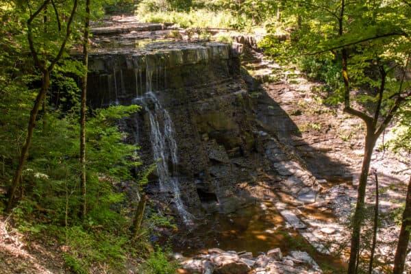 Yatesville Falls in Montgomery County New York