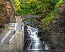 Hiking the Amazing Cascadilla Gorge in Ithaca, New York