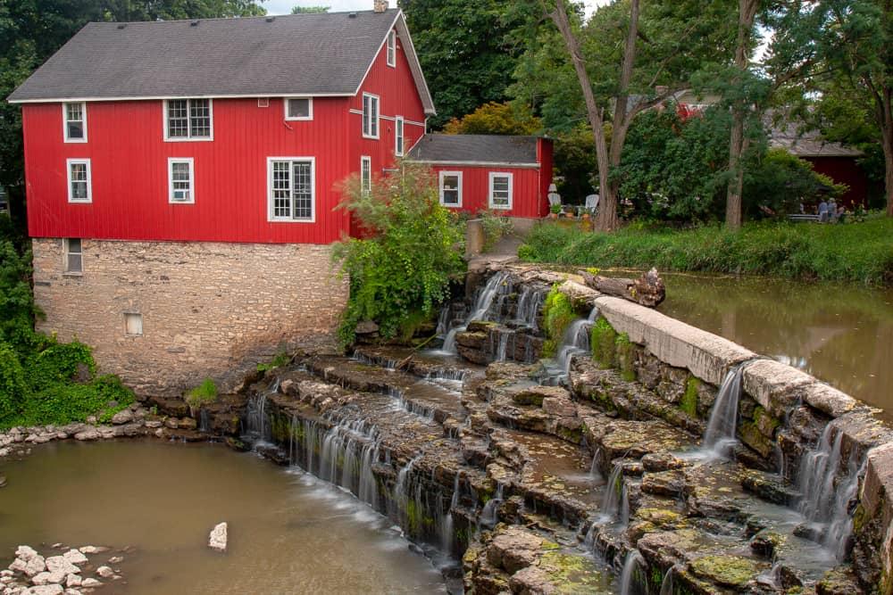 Honeoye Falls in Monroe County New York