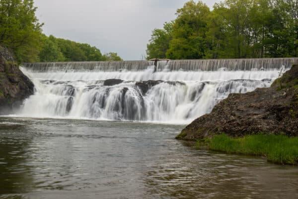 Stuyvesant Falls in Columbia County New York