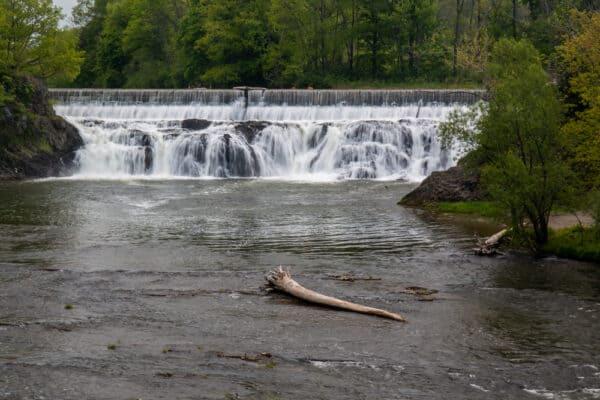 Stuyvesant Falls Park in Columbia County New York