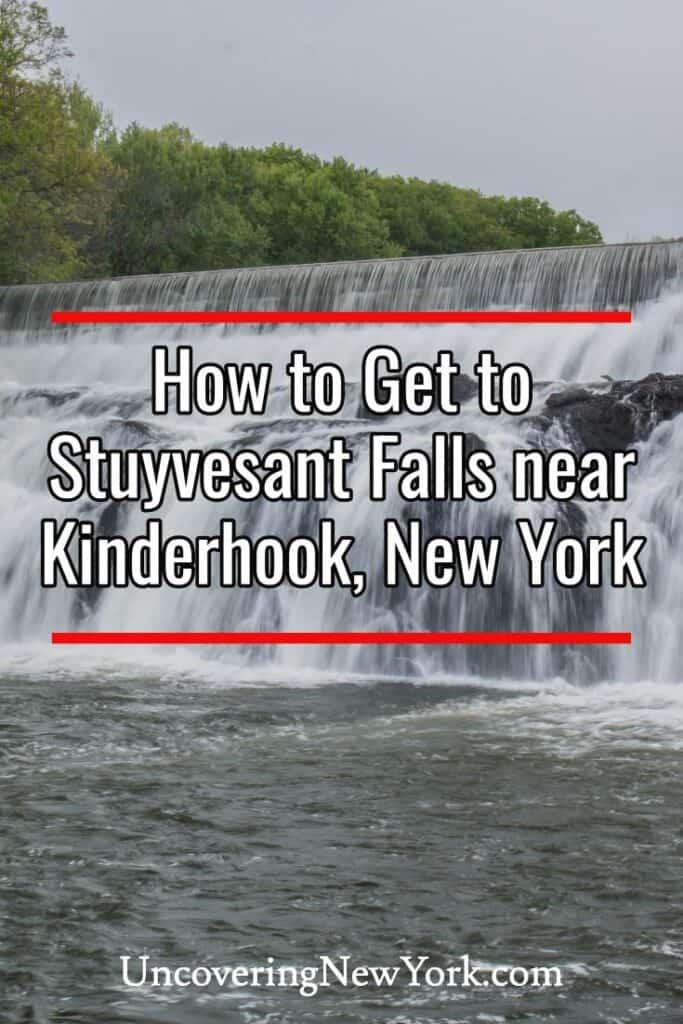 Stuyvesant Falls near Kinderhook New York