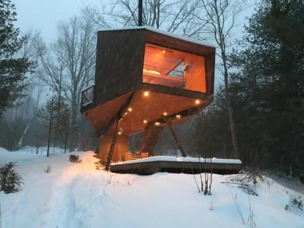 Willow Treehouse in the Catskills