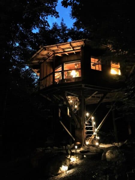 Magical Treehouse in the Adirondacks