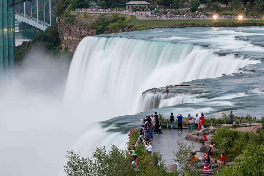 American Falls at Niagara Falls State Park in New York