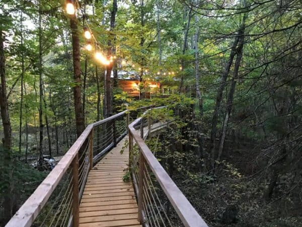 Ash Hill Treehouse in the Adirondacks of New York
