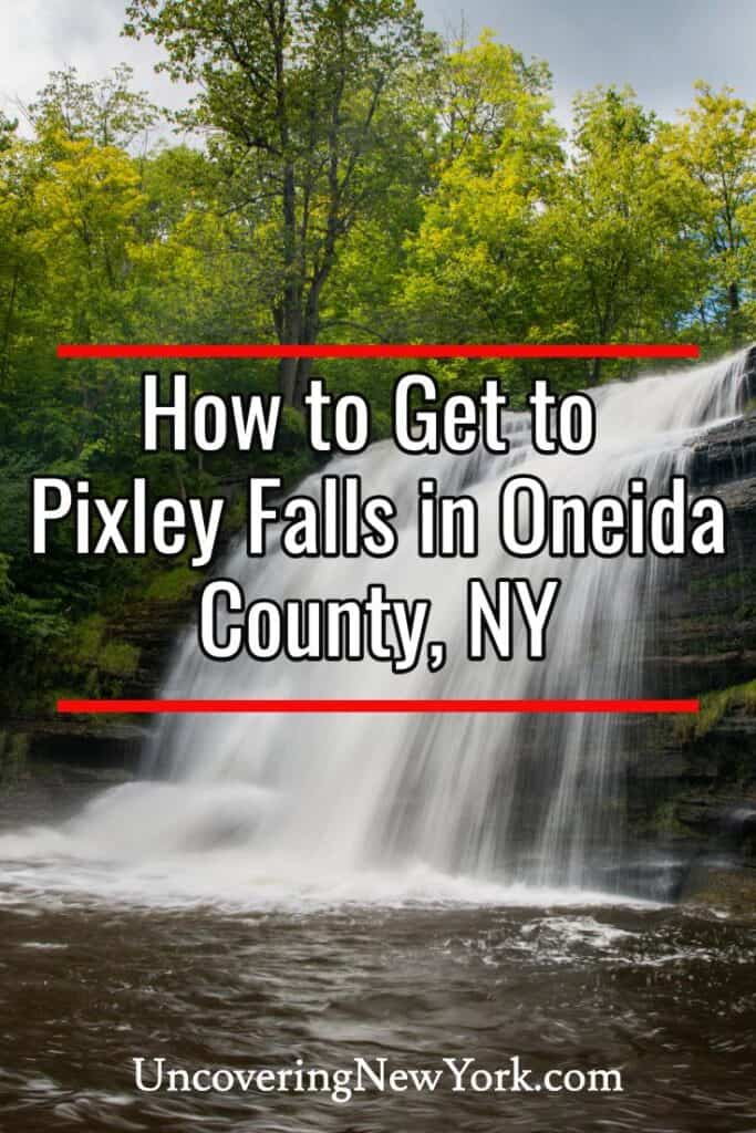 Pixley Falls State Park in New York